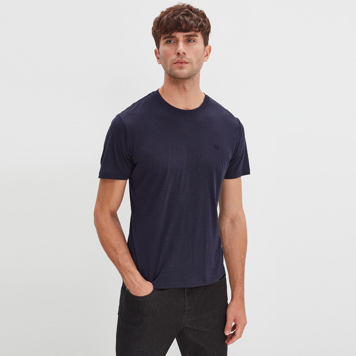 【优个精选】Naturally Inspired/天赋灵感 瑞典时尚品牌澳洲美丽诺羊毛男式短袖T恤基础三件装