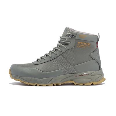 Northland诺诗兰 徒步登山鞋中帮枯绿色 头层牛皮V底防水防滑透气FB085508(79116)