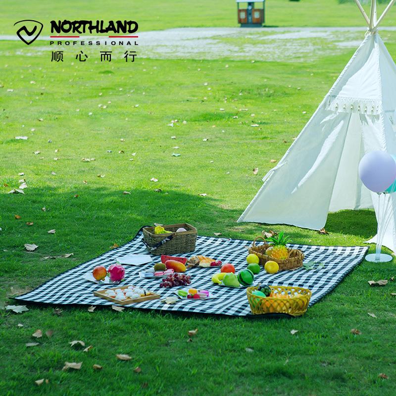 諾詩蘭新款舒適耐磨戶外便攜旅行郊游露營裝備野餐墊A990161   79591