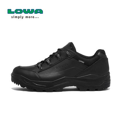 LOWA户外RENEGADE II GTX TF男式低帮防水战术靴靴 L310904 黑色018   80089