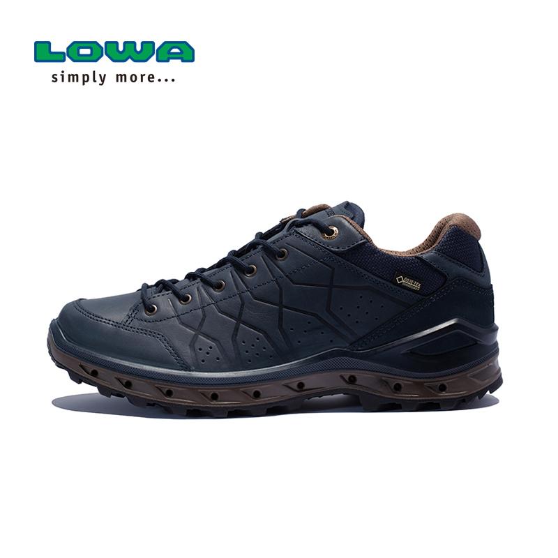 LOWA新品户外休闲鞋防水耐磨AERANO GTX男式低帮鞋 L310657 藏青色 80108