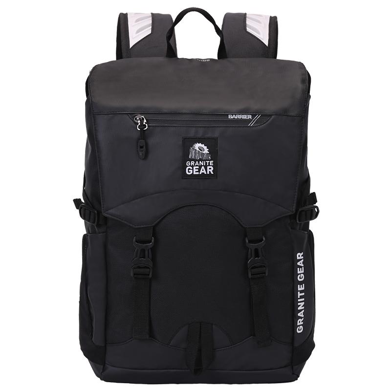 花岗岩 双肩包 多色可选 男女旅行包街头通勤休闲背包学院风书包G7053-N(71408)