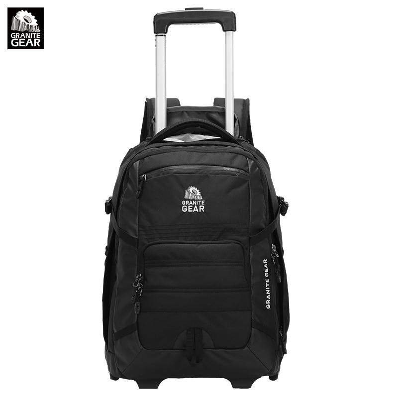 Granite Gear花岗岩17寸拉杆背包旅行双肩包男登机箱女行李箱书包1000033(76386)