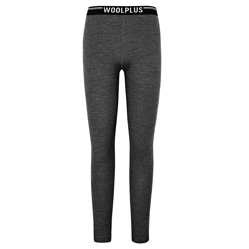 Naturally Inspired 女款运动长裤麻灰色260gsm长裤 澳洲100%美丽诺羊毛77384
