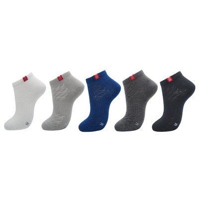 okato 【4双装】漫步者 速干 除臭 吸湿 排汗 薄款 船袜 户外袜RB28   79782